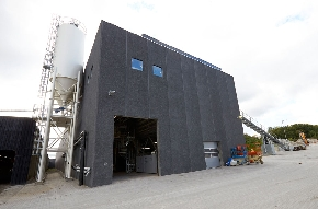 <div>The new production hall of CRH Concrete in Viby, Denmark</div>